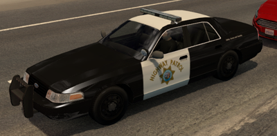[REL] Separate state Highway Patrol and city police cars